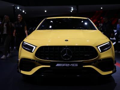 Mercedes-AMG A 45 S : notre vidéo au Salon de Francfort 2019