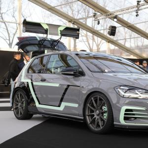 Golf GTI Aurora : le concept avec affichage holographique en vidéo