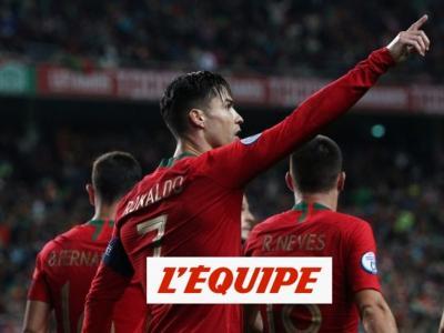 Tous les buts de Portugal-Lituanie - Foot - Qualif. Euro
