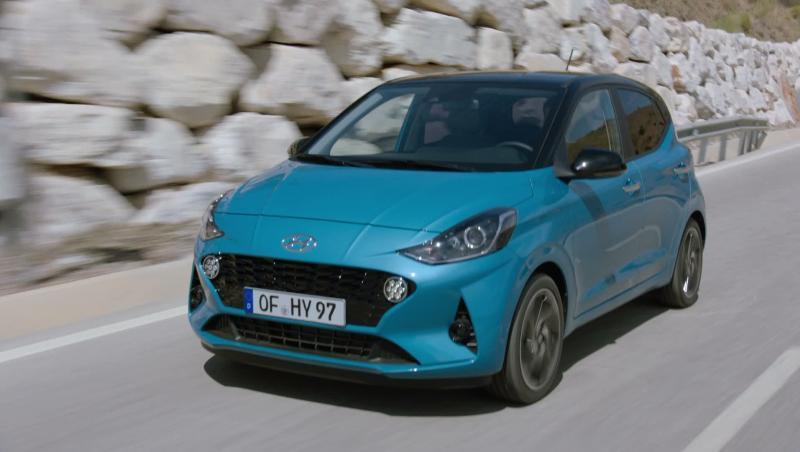 Essai vidéo de la nouvelle Hyundai i10 : plus grande qu'il n'y paraît