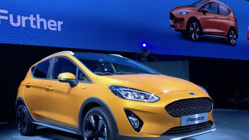Reveal live Ford Fiesta 2017