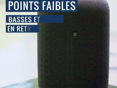 Sony LF-S50G : notre test vidéo de l'enceinte Google Assistant