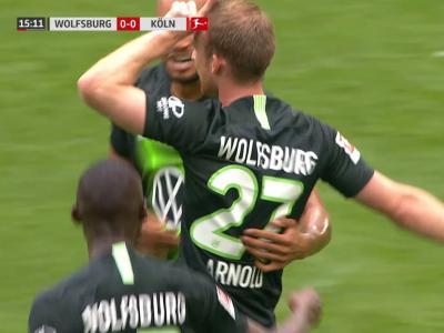 Wolfsburg : La volée complètement folle d'Arnold !