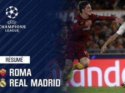 Résumé : Roma - Real Madrid (0-2) - Ligue des champions