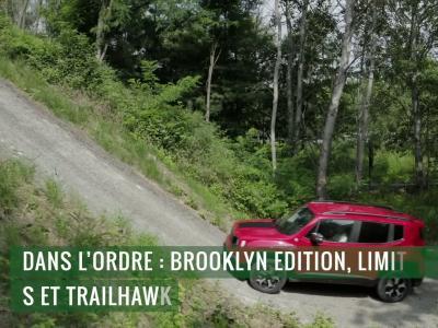 Jeep Renegade 4xe : le SUV hybride rechargeable en vidéo