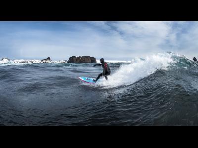 Surf en Antarctique avec Ramon Navarro
