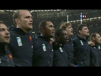 Le Haka du quart de finale de la Coupe du Monde 2007 France - Nouvelle-Zélande