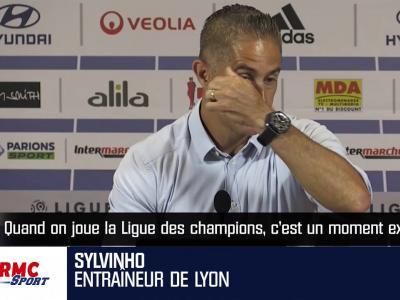 OL : la réaction de Sylvinho au tirage au sort de la Ligue des champions !