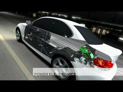 BMW Active E à Genève