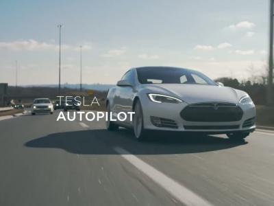 Le pilote automatique de Tesla en vidéo