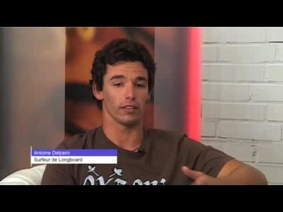 Interview Antoine Delpero, champion de Stand Up Paddle