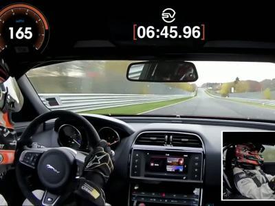 La Jaguar XE SV Project 8 devient la reine du Nürburgring chez les berlines