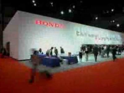 Tokyo 2011 : le stand Honda