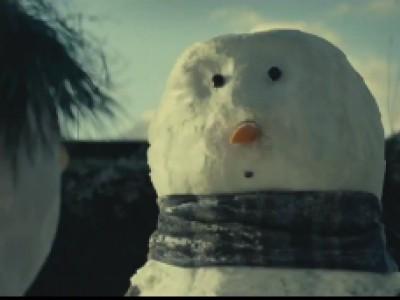 Les Bonhommes De Neige Amoureux