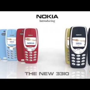 Nokia 3310 : concept vidéo avant son retour au Mobile World Congress 2017