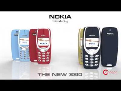 Nokia 3310 : concept vidéo avant son retour au Mobile World Congress 2017