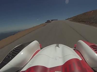 Revivez en vidéo la montée victorieuse de Romain Dumas à Pikes Peak