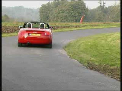 Essai Audi TT Roadster 150ch