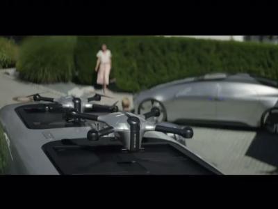 Le livreur du futur sera assisté d'un drone