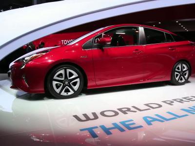 Francfort 2015 : Toyota Prius 4