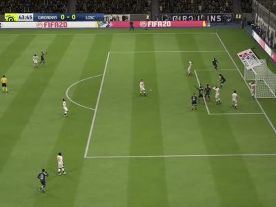 Girondins de Bordeaux - LOSC sur FIFA 20 : résumé et buts (L1 - 38e journée)