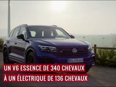 Volkswagen Touareg R eHybrid : le grand SUV en vidéo