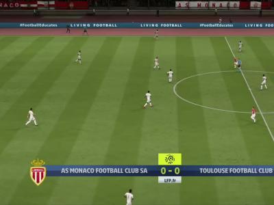 AS Monaco - Toulouse FC : notre simulation FIFA 20 (L1 - 37e journée)