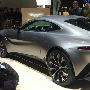 L'Aston Martin Vantage en vidéo depuis le salon de Genève 2018