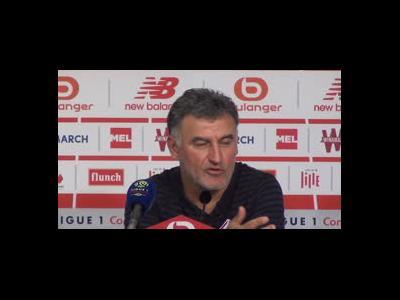 Christophe Galtier (LOSC) veut affronter le Real en Ligue des Champions