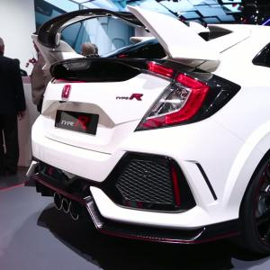 Genève 2017 : Honda Civic Type R