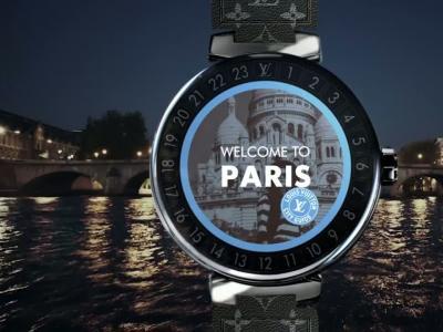 Louis Vuitton Tambour Horizon : vidéo officielle de la montre connectée