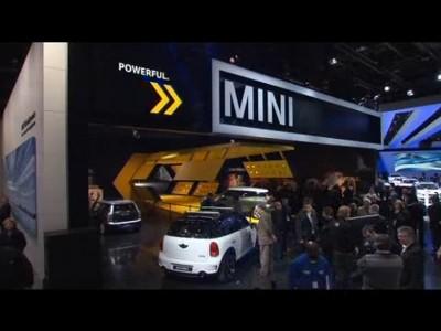 Détroit 2011 : Ambiance sur le stand Mini