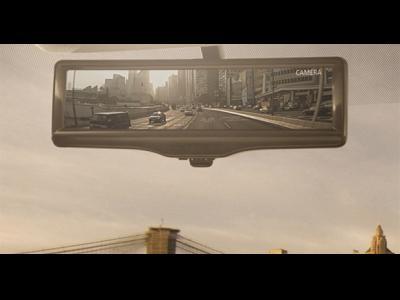 Un rétroviseur vidéo en approche chez Nissan