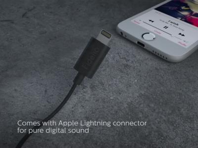 Philips Fidelio M2L : le casque Lightning de Philips en vidéo