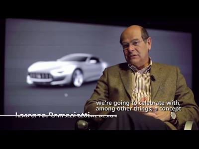 La réalisation du concept Maserati Alfieri en vidéo