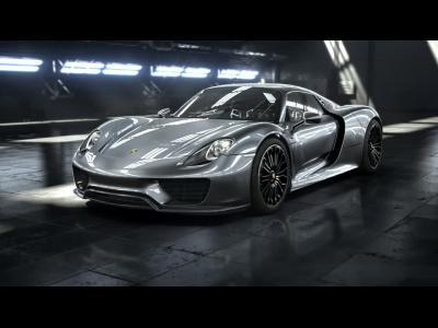 Cure d'amincissement pour la Porsche 918 Spyder