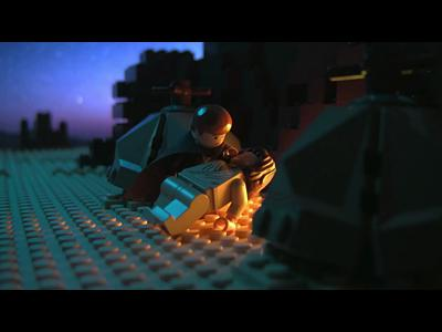 La trilogie Star Wars en 2 mn par lego