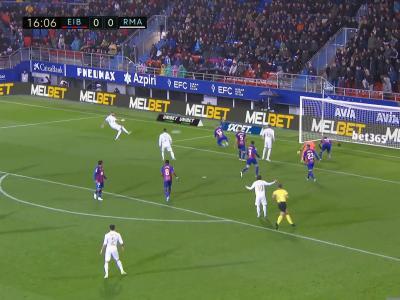 Eibar-Real Madrid : la démonstration des Merengue en vidéo !