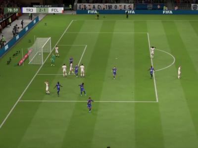 ESTAC Troyes - FC Lorient sur FIFA 20 : résumé et buts (L2 - 30e journée)