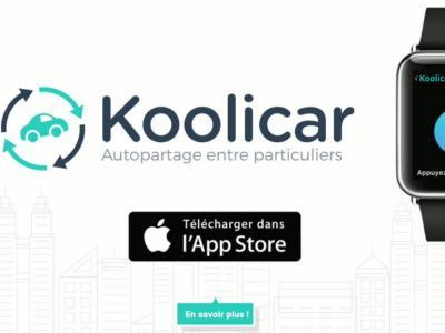 Koolicar sur Apple Watch : vidéo officielle de démonstration