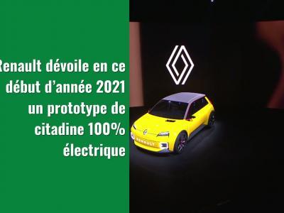 Renault R5 : le prototype en vidéo