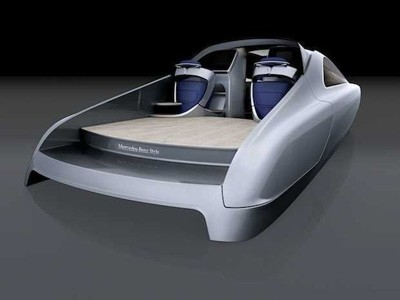 Mercedes va lancer la Classe S des mers