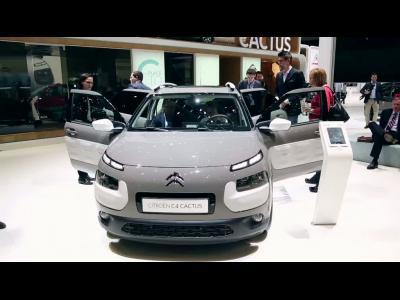 Genève 2014 : Citroën C4 Cactus Aventure