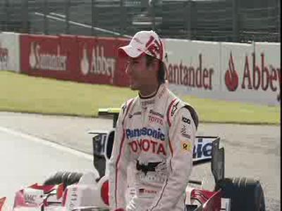 Toyota F1 et Bamobile à Silverstone