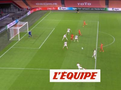 Les buts de Pays-Bas-Bosnie-Herzégovine - Foot - Ligue des nations