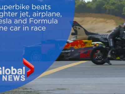 Qui est le  rapide entre une F1, une Tesla, un avion de chasse ou une Kawasaki ?