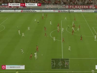 Bayern Munich - Francfort sur FIFA 20 : résumé et buts (Bundesliga - 27e journée)