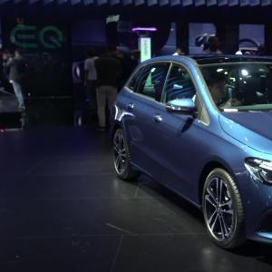 Mondial de l'Auto 2018 : la Mercedes Classe B en vidéo