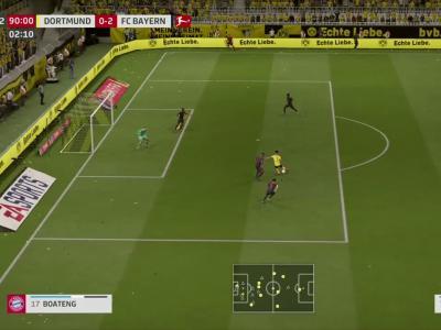 Borussia Dortmund - Bayern Munich sur FIFA 20 : résumé et buts (Bundesliga - 28e journée)