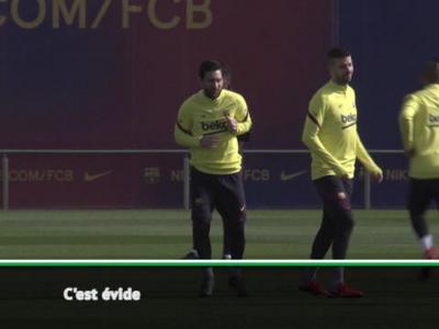 """26e j. - Zidane : """"Le Barça est bon avec ou sans Messi"""""""